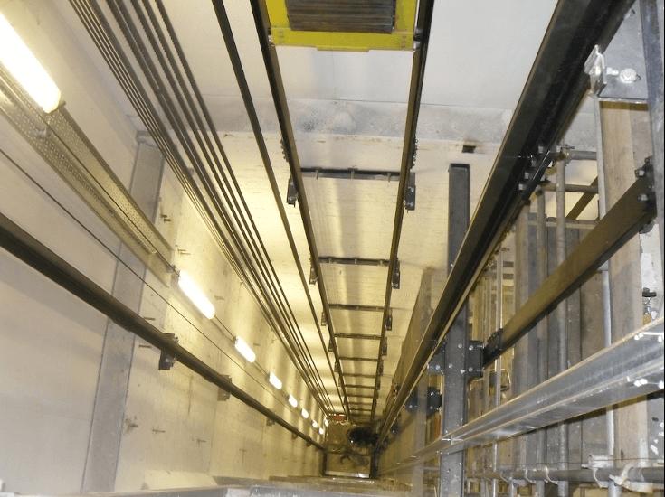 پایین ترین قسمت آسانسور چاهک آسانسور است