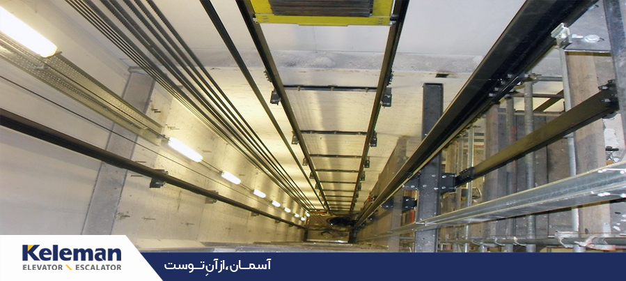 چاهک آسانسور و ابعاد آن