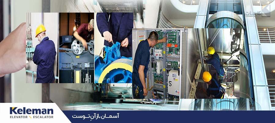 مراحل نصب آسانسور و خطاهای رایج در آن