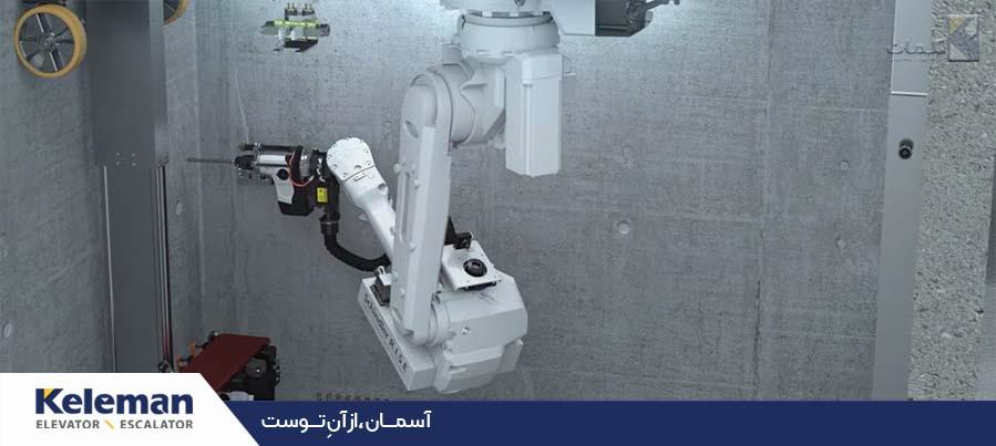 سیستم رباتیک آسانسور شرکت شیندلر