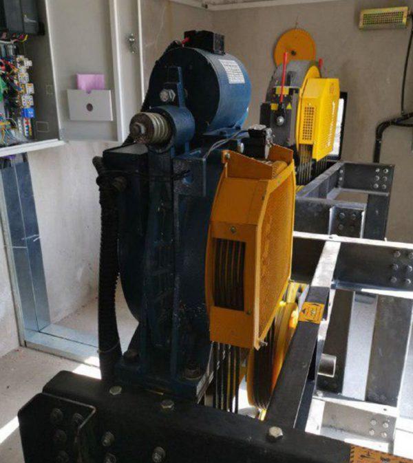 موتور گیرلس WEBER100 هشت نفره 1 متر بر ثانیه