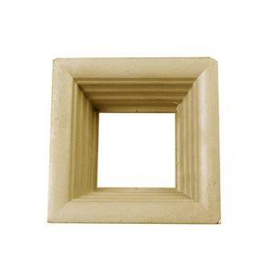 پک قاب و شیشه 3 تایی طلایی درب ورساچ