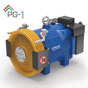 موتور آسانسور PRIMO PG1 ایتالیا 3/3 کیلو وات 1متر بر ثانیه