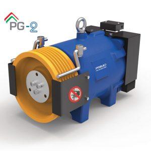 موتور آسانسور PRIMO PG2 ایتالیا 4/5 کیلو وات 1متر بر ثانیه