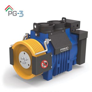 موتور آسانسور PRIMO PG3 ایتالیا 5/6 کیلو وات 1متر بر ثانیه